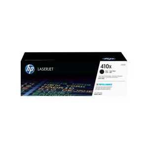 Original HP 410X Black toner cartridge, High Yield, CF410X, 6500 pages
