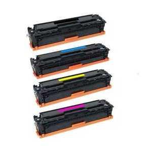Compatible HP 410X toner cartridges, High Yield, 4 pack