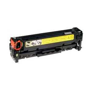 Compatible HP 410X Yellow toner cartridge, High Yield, CF412X, 5000 pages
