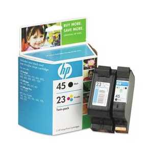 Multipack - HP 45 / HP 23 genuine OEM ink cartridges - C8790FN - 2 pack