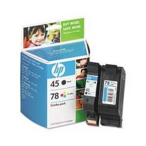 Multipack - HP 45 / HP 78 genuine OEM ink cartridges - C8788FN - 2 pack