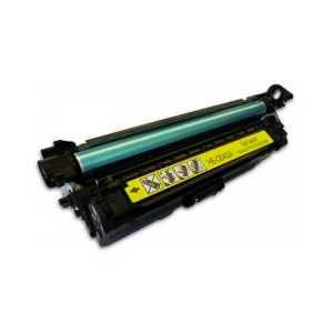 Remanufactured HP 507A Yellow toner cartridge, CE402A, 6000 pages