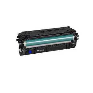 Remanufactured HP 508A Cyan toner cartridge, CF361A, 5000 pages