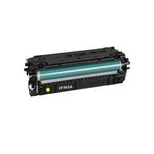 Compatible HP 508A Yellow toner cartridge, CF362A, 5000 pages