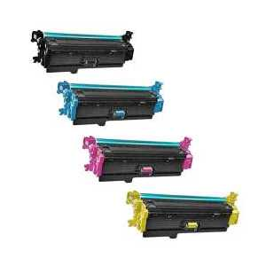 Remanufactured HP 508X toner cartridges, 4 pack