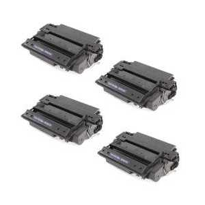Compatible HP 51X toner cartridges, High Yield, Q7551X, 4 pack