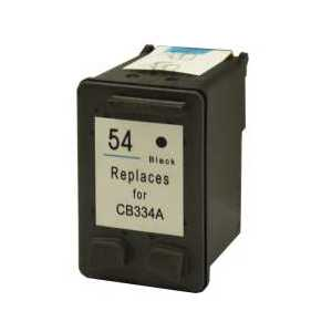 HP 54 Black remanufactured ink cartridge - CB334AN