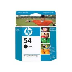 HP 54 Black genuine OEM ink cartridge - CB334AN