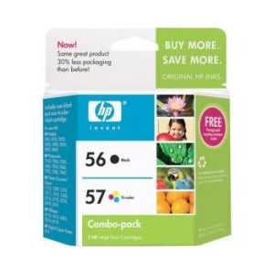 Multipack - HP 56 / HP 57 genuine OEM ink cartridges - C9321FN - 2 pack