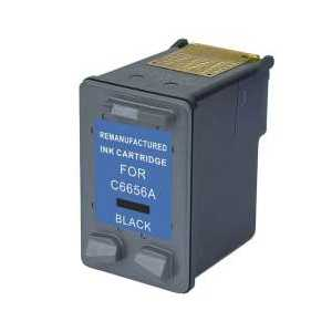 HP 56 Black remanufactured ink cartridge - C6656AN