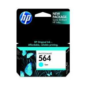 HP 564 Cyan genuine OEM ink cartridge - CB318WN