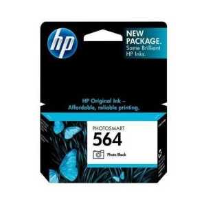 HP 564 Photo Black genuine OEM ink cartridge - CB317WN