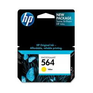 Original HP 564 Yellow ink cartridge, CB320WN