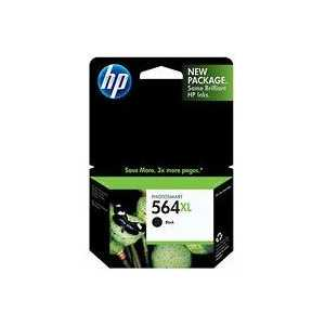 HP 564XL Black High Yield genuine OEM ink cartridge - CN684WN#140 / CB321WN