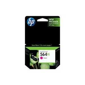 Original HP 564XL Magenta ink cartridge, High Yield, CB324WN