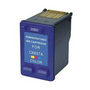 Remanufactured HP 57 Tricolor ink cartridge, C6657AN