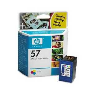 HP 57 Tricolor genuine OEM ink cartridge - C6657AN