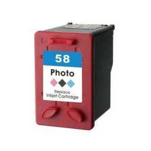 Remanufactured HP 58 Photo ink cartridge, C6658AN