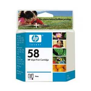 HP 58 Photo genuine OEM ink cartridge - C6658AN