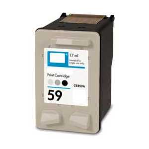 Remanufactured HP 59 Gray Photo ink cartridge, C9359AN