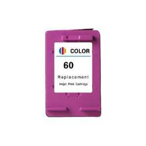 Remanufactured HP 60 Tricolor ink cartridge, CC643WN
