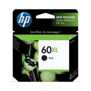 Original HP 60XL Black ink cartridge, High Yield, CC641WN