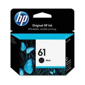 Original HP 61 Black ink cartridge, CH561WN