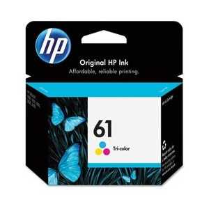 Original HP 61 Tricolor ink cartridge, CH562WN
