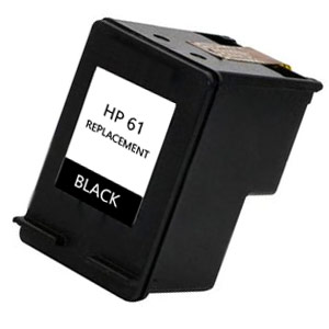 Remanufactured HP 61XL Black ink cartridge, High Yield, CH563WN