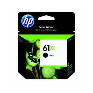 Original HP 61XL Black ink cartridge, CH563WN