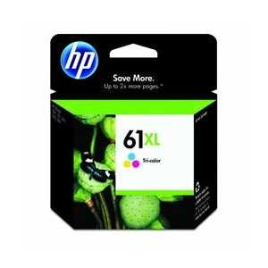 Original HP 61XL Tricolor ink cartridge, CH564WN