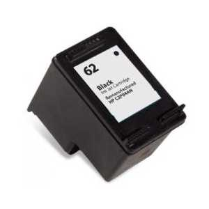 Remanufactured HP 62 Black ink cartridge, C2P04AN