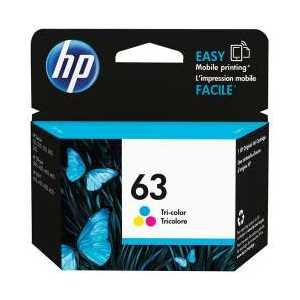 Original HP 63 Color ink cartridge, F6U61AN