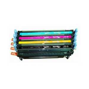 Remanufactured HP 643A toner cartridges, 4 pack