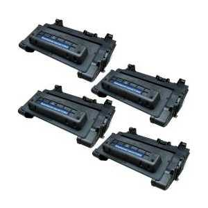 Compatible HP 64A toner cartridges, CC364A, 4 pack