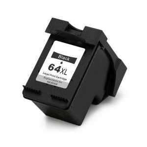 Remanufactured HP 64XL Black ink cartridge, High Yield, N9J92AN
