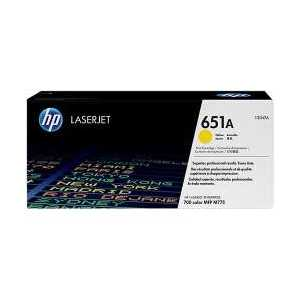 Original HP 651A Yellow toner cartridge, CE342A, 16000 pages