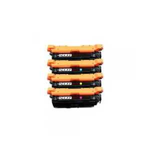 Remanufactured HP 653X, 653A toner cartridges, High Yield, 4 pack