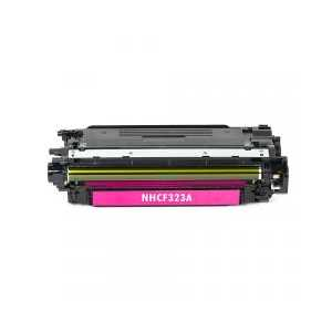 Remanufactured HP 653A Magenta toner cartridge, CF323A, 16500 pages