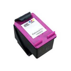 Remanufactured HP 65XL Tri-color ink cartridge, High Yield, N9K03AN