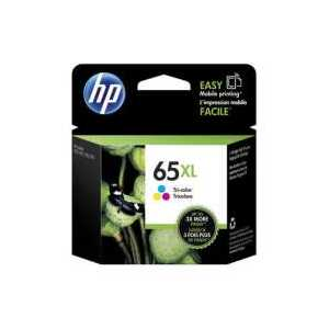 Original HP 65XL Tricolor ink cartridge, High Yield, N9K03AN