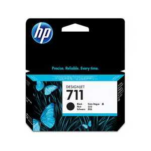 HP 711 Black genuine OEM ink cartridge - CZ129A