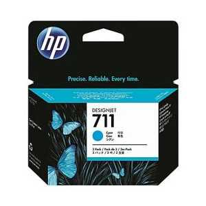 HP 711 Cyan genuine OEM ink cartridge - CZ130A