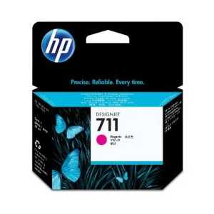 HP 711 Magenta genuine OEM ink cartridge - CZ131A