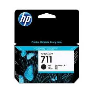 HP 711XL Black High Yield genuine OEM ink cartridge - CZ133A