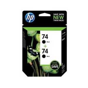 Multipack - HP 74 genuine OEM ink cartridges - CZ069FN - 2 pack