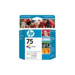 Original HP 75 ink cartridge, CB337WN