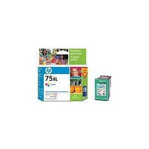 Original HP 75XL ink cartridge, High Yield, CB338WN