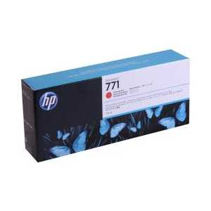 HP 771 Chromatic Red genuine OEM ink cartridge - CE038A