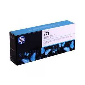 HP 771 Light Gray genuine OEM ink cartridge - CE044A